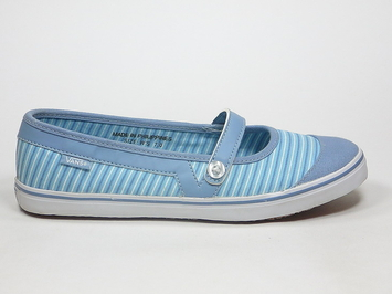 кеды балетки Vans Loni (Stripes) Dream Blue/Faded (109)
