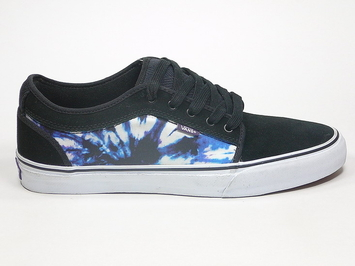 кеды  Vans Chukka Low Black / Purple TIE DYE (114)
