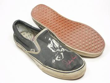 кеды слипоны  Vans Slip On Ramones (141)