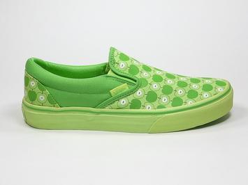 кеды слипоны Vans (green Apples) Kiwi/lettuce Green (142)