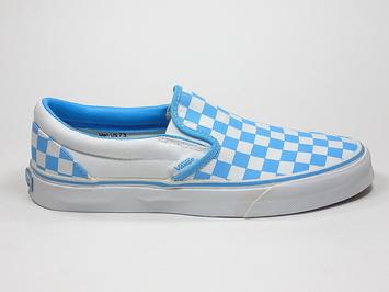 кеды слипоны Vans (checkerboard) Bonnie / True white (143)
