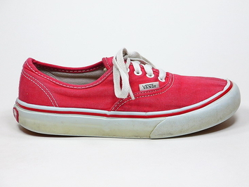кеды Vans Authentic Kids Red (151)