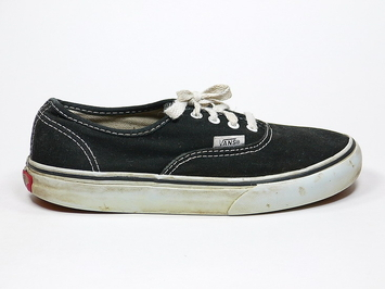 кеды Vans Authentic Kids Black (152)