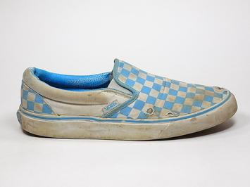 кеды слипоны Vans (checkerboard) Bonnie / True white (156)