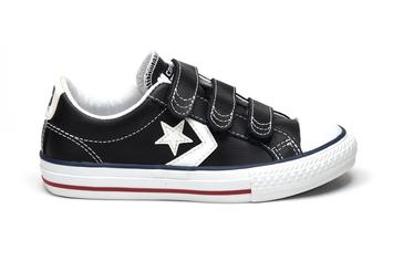 кеды Converse All Star 637316С Star Player 3V OX  Black/White (1824)